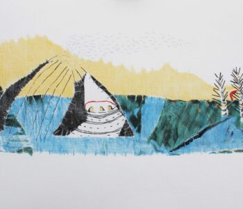 Britta Marakatt-Labba konstnär, konstverk Drömmar, Våga Se - Konst