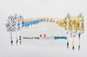 Britta Marakatt -Labba konstnär - konstverk Vi - Våga Se Konst
