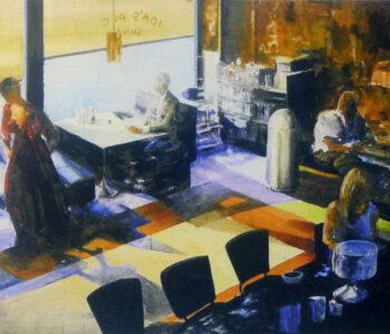 Lars Eje Larsson konstnär - konstverk Diner - Våga Se Konst