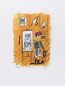 Madeleine Pyk konstnär - konstverk 9 - Våga Se Konst