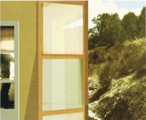 Konstnär Nils-Erik Mattsson. Konstverk benämning NEM3 'Utan titel 3', litografi, 45x32 cm, upplaga 295. Våga Se - Konst