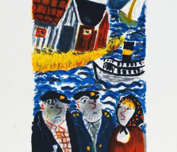 Sven Lidberg konstnär - Konstverk 3 - Våga Se Konst