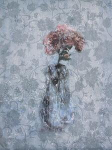 Konstnär Yngve Brothén. Konstverk benämning: YB1 'Minne av en sommar I', litografi 29×37,5 cm, upplaga 250. Våga Se - Konst