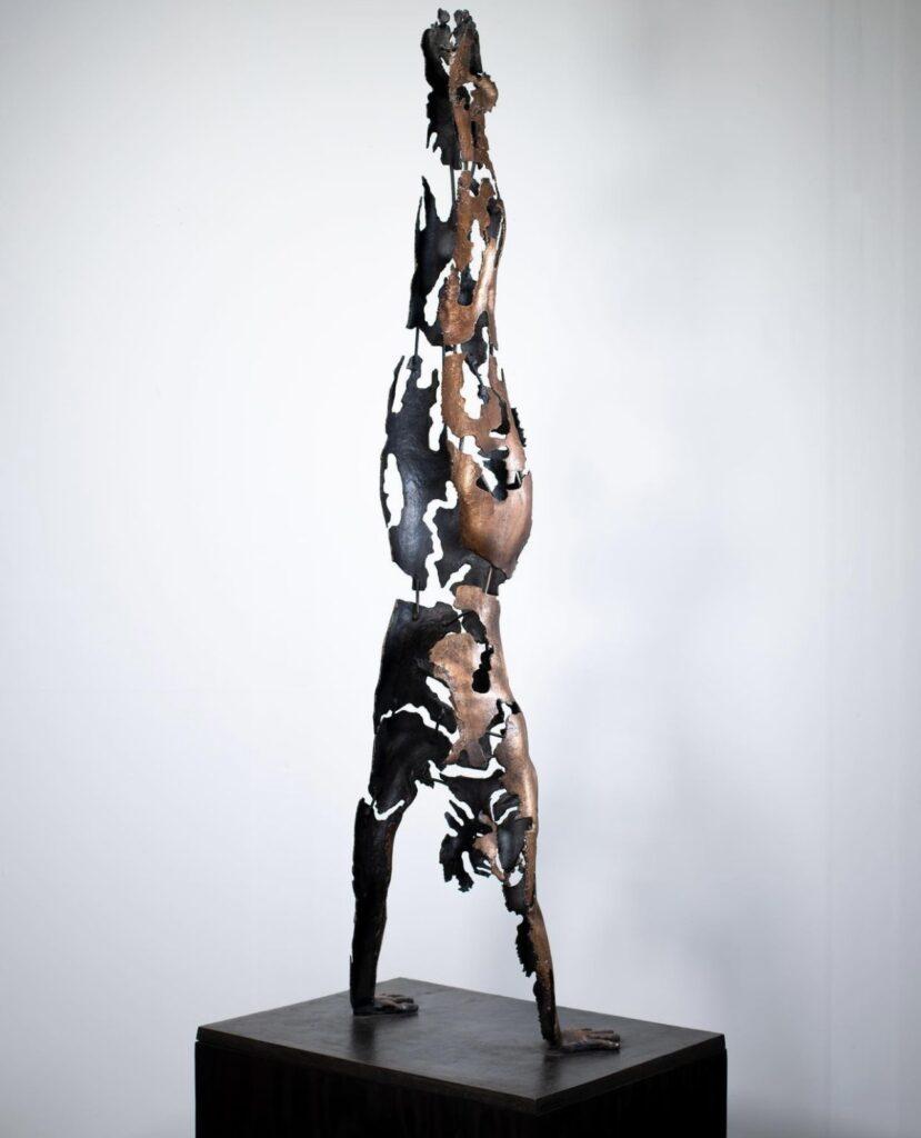 Tove Kjellmark Skulptur_Market Art Fair 2021_galleri thomassen_våga se - konst
