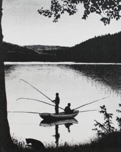 Erik Kihlbaum konstnär - konstverk SvartKatt3 - Våga Se Konst