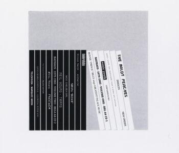 Jacob Dahlgren Konstnär. Konstverk benämning JD3 'Utan titel 3', fotogravyr, pappersmått: 36,5x27 cm, bildmått: 18x18 cm, upplaga 295