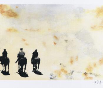 """Mats Pehrson konstnär, konstverk """"Contemplation 1"""", litografi, 43x30 cm, upplaga 295 Våga Se Konst"""