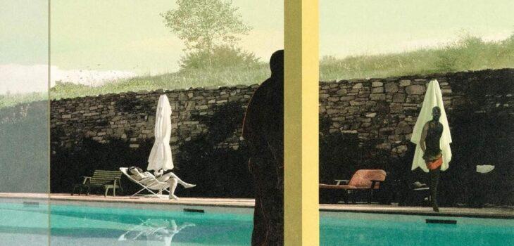 Konstnär Nils-Erik Mattsson. Konstverk benämning NEM4 'Utan titel 4', litografi, 46x32 cm, upplaga 295. Våga Se - Konst