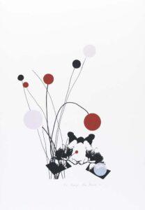 Nina Kerola konstnär, konstverk 'Luftigt', Våga Se - Konst
