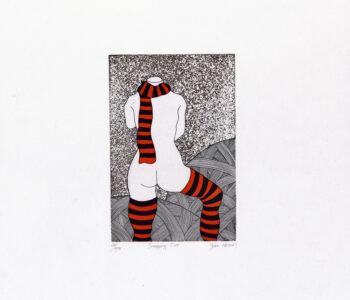 Yoko Akino konstnär - konstverk 4 - Våga Se Konst